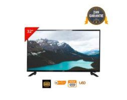 LED 32″ HD Telestar Téléviseur – Noir – Garantie 2 Ans + Démo intégré