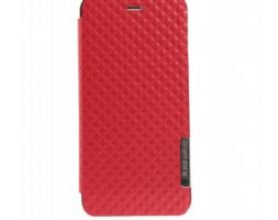 Obien Etui/Support iPhone 6 Plus en Similicuir Rouge