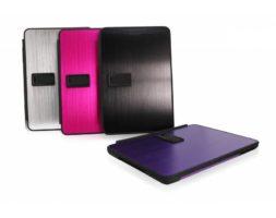 Obien Coque/Support iPad Mini en Alliage Aluminium Violet