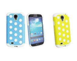 Obien Coque Samsung Galaxy S4 BLEU/JAUNE