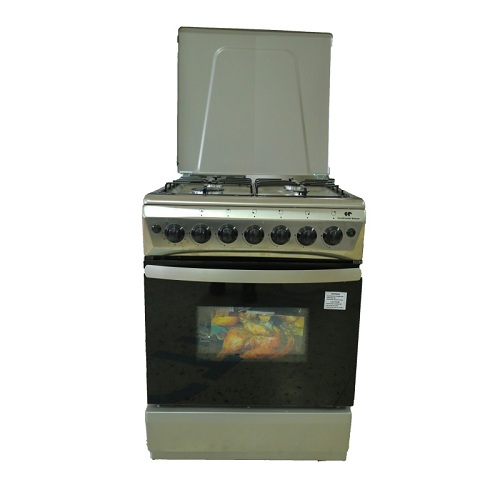 Cuisinière BYA 4Feux Inox