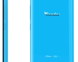 SMARTPHONE CONDOR P6 PLUME PLUS BLEU